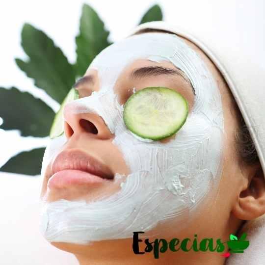mascarilla de aceite esencial de cilantro casera