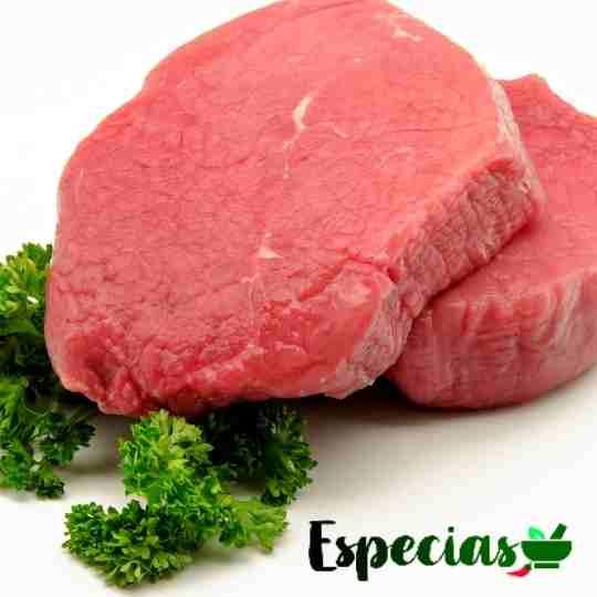 bifes de carne de res magra